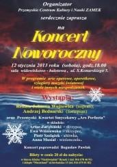 KONCERT NOWOROCZNY w Przemyślu - 12-01-2013