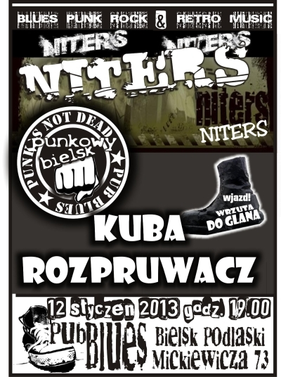 Koncert Niters Kuba Rozpruwacz W Bielsku Podlaskim 12012013