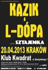 Bilety na koncert Kazik & L- Dópa w Krakowie - 20-04-2013