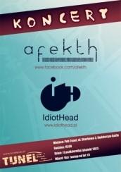 Koncert IdiotHead + Afekth w Kędzierzynie-Koźlu - 11-10-2013