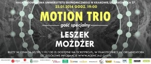 """Bilety na koncert Motion Trio """"Polonium"""" - gość specjalny Leszek Możdżer w Krakowie - 23-01-2014"""