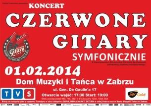 Bilety na koncert Czerwone Gitary Symfonicznie w Zabrzu - 01-02-2014