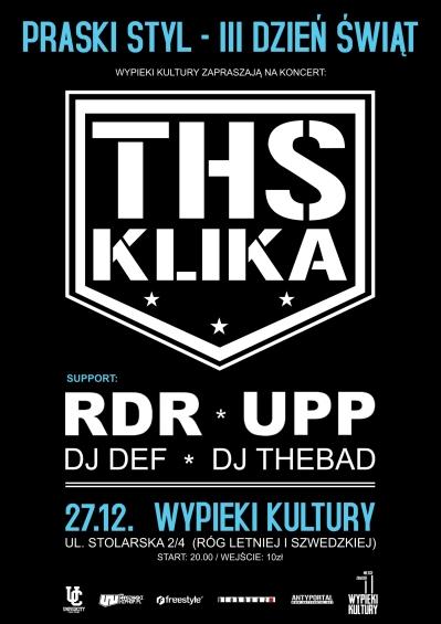 Koncert Ths Klika Dj Def Dj Thebad W Warszawie 27 12 2013