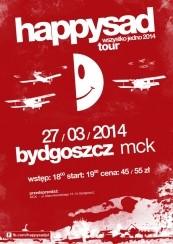 Koncert Happysad w Bydgoszczy - 27-03-2014