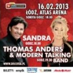Sandra i Thomas Anders & Modern Talking Band, Discotex - Koncert Walentynkowy