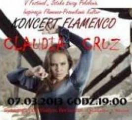 Claudia Cruz - koncert flamenco