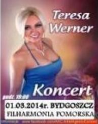 Bilety na koncert Teresa Werner w Bydgoszczy - 01-03-2014