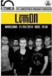 Bilety na koncert LemON w Warszawie - 21-03-2014
