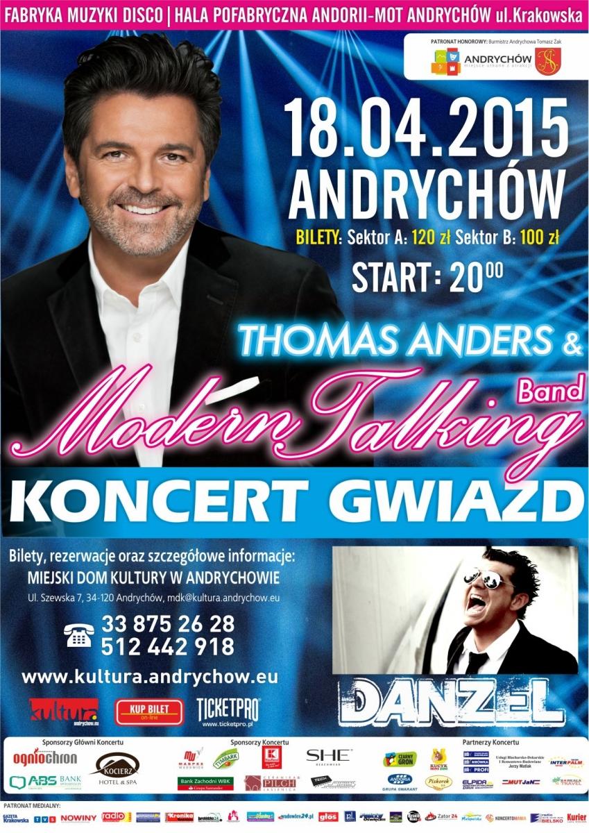 Thomas Anders Modern Talking Koncert Thomas Anders Modern