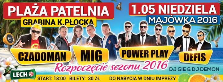 Masywnie Czadoman, MIG, DEFIS, POWER PLAY w Grabinie koło Płocka - 01.05 CV35
