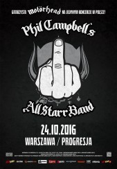 Phil Campbell's All Starr Band - bilety na koncert