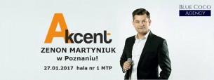 Koncert Zespołu Akcent w Poznaniu! - 27-01-2017