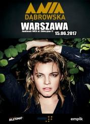 Bilety na koncert Ania Dąbrowska w Warszawie - 15-06-2017