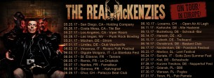 Koncert The Real McKenzies w Toruniu - 31-07-2017