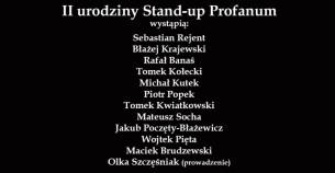 Koncert II urodziny Stand-up Profanum- Częstochowa - 27-08-2017