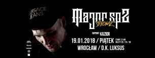 Koncert Major SPZ + Kazior we Wrocławiu - 19-01-2018