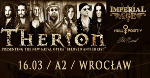 Bilety na koncert Therion + Imperial Age, Null Positive we Wrocławiu - 16-03-2018