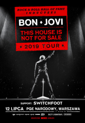 Bilety na koncert Bon Jovi - This House Is Not For Sale w Warszawie - 12-07-2019