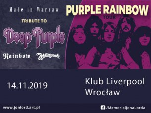 Koncert Tribute to Deep Purple & more.... we Wrocławiu - 14-11-2019