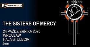 Bilety na koncert The Sisters of Mercy oraz Peter Hook & The Light grają Joy Division we Wrocławiu - 24-10-2020