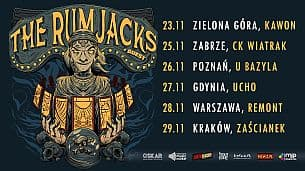 Bilety na koncert The Rumjacks + The Sandals | Poznań, 26.11.2021 - 26-11-2021