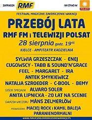 Festiwal Magiczne Zakończenie Wakacji z Polsatem i RMF FM Kielce 2016 - dzień 2 - Przebój lata RMF FM i TELEWIZJI POLSAT - rejestracja POLSAT - bilety na koncert