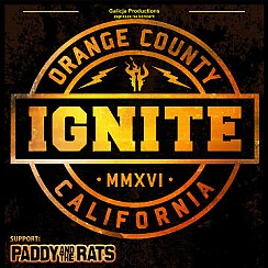 Bilety na koncert Ignite, support: Paddy and the Rats, Street Chaos w Krakowie - 09-12-2016