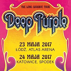 "Deep Purple - ""The Long Goodbye Tour"" - bilety na koncert"