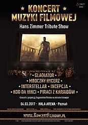 Bilety na koncert Muzyki Filmowej - Hans Zimmer Tribute Show w Poznaniu - 04-03-2017