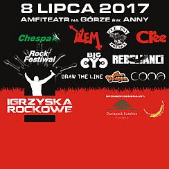 Igrzyska Rockowe: Coma, Dżem, Andrzej Nowak i Złe Psy, Big Cyc, Cree, Rebelianci - bilety na koncert