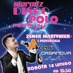 Bilety na Sieradz Festival Disco Polo : Zenek Martyniuk i Akcent oraz przyjaciele Casanova