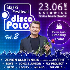 Bilety na Śląski Festiwal Disco Polo vol. 2