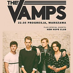 Bilety na koncert The Vamps, special guest: New Hope Club w Warszawie - 22-05-2017