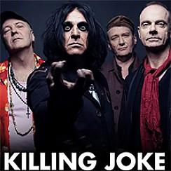 Bilety na koncert Killing Joke + support w Warszawie - 19-06-2017
