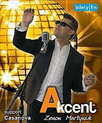 Bilety na koncert Akcent - Zenon Martyniuk w Szczecinie - 12-07-2017