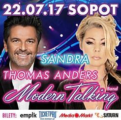 Bilety na koncert Thomas Anders & Modern Talking Band, Sandra - koncert wakacyjny w Sopocie - 22-07-2017