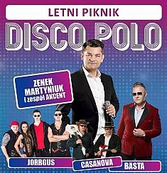 Bilety na koncert Letni Piknik Disco Polo: Zenek Martyniuk i Akcent, Basta, Jorrgus i Casanowa w Mysłowicach - 23-07-2017