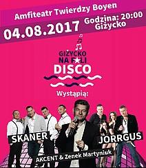 Bilety na koncert Giżycko Na Fali Disco - GIŻYCKO  NA FALI  DISCO  - 2017 - 04-08-2017