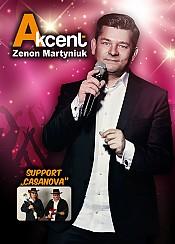 Akcent - Zenon Martyniuk - bilety na koncert