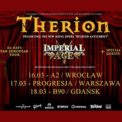 Bilety na koncert Therion, Imperial Age, Null Positiv we Wrocławiu - 16-03-2018