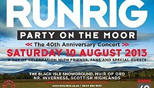 Bilety na koncert Runrig w Stirling - The City Park - Dumbarton Road - FK8 3AB - GB - 18-08-2018