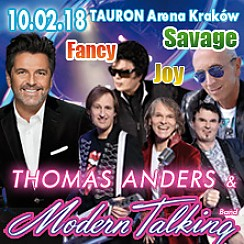 Bilety na koncert na Walentynki: Savage, Fancy, Joy i Thomas Anders & Modern Talking Band w Krakowie - 10-02-2018