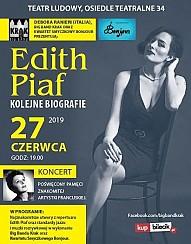 Bilety na koncert Edith Piaf - Kolejne biografie - Muzyczne widowisko biograficzne. Debora Ranieri, Big Band Krak, Kwartet Smyczkowy Bonjour. w Krakowie - 27-06-2019