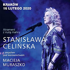 Bilety na koncert Stanisława Celińska - Atrament z nutą maliny w Krakowie - 16-02-2020