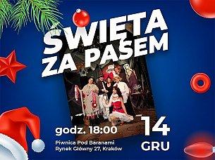 Bilety na spektakl Święta za pasem - Spektakl komediowy - Kraków - 14-12-2019