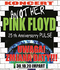 Bilety na koncert Another PINK FLOYD Tribute Band - Another Pink Floyd - 25th Anniversary Pulse we Wrocławiu - 30-10-2020